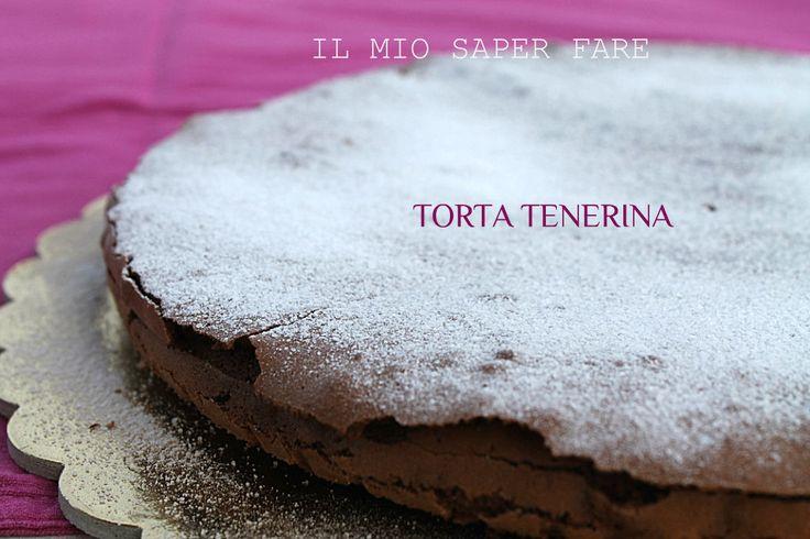 Torta tenerina è un dolce tipico di Ferrara,goloso e facile da preparare.Un cuore morbido che contrasta piacevolmente con una deliziosa crosticina croccante