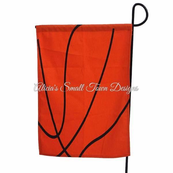 Personalized Basketball Garden Flag