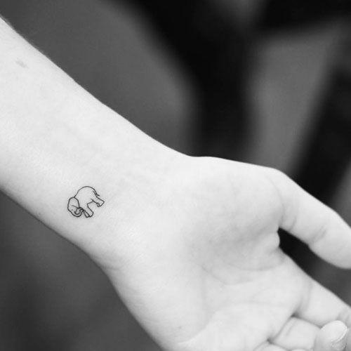 75 Best Elephant Tattoo Designs For Women 2020 Guide Tiny Elephant Tattoo Elephant Tattoo Small Elephant Tattoo Design
