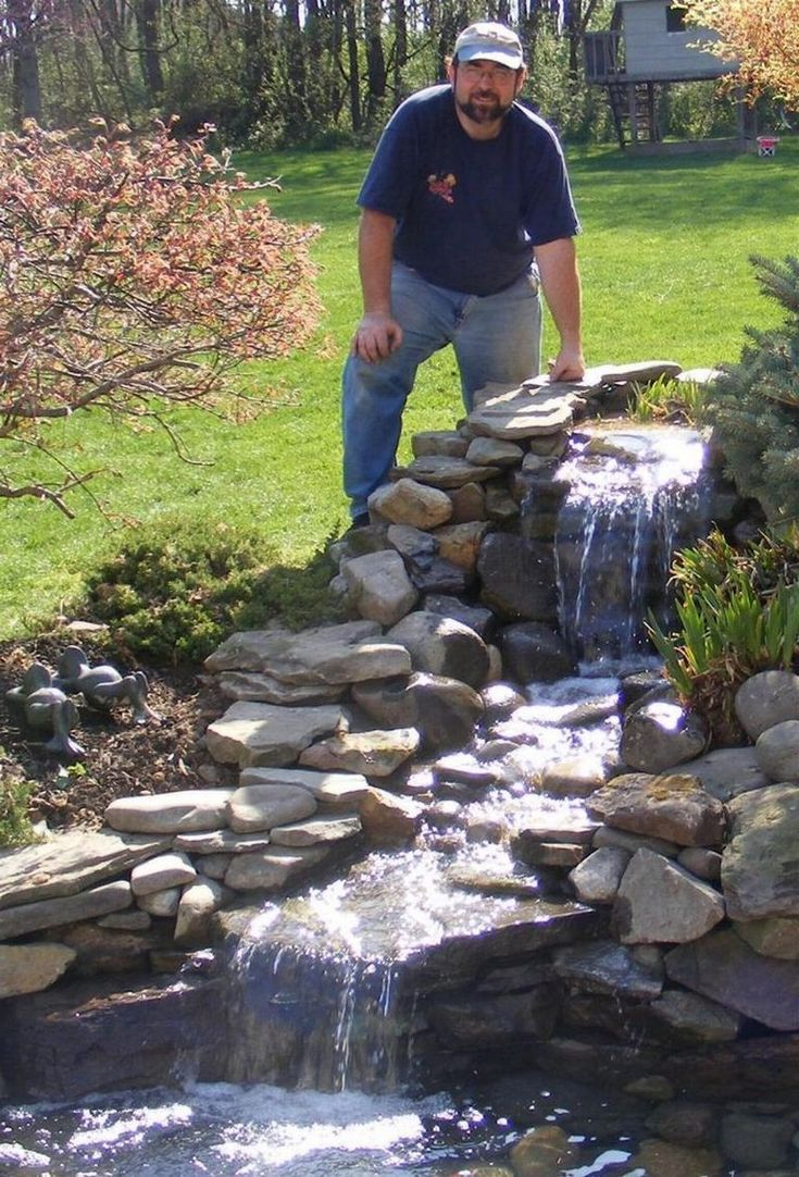 35+ Amazing How to Make Waterfall for Your Home Garden ...