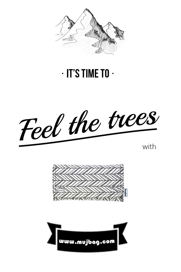 It's time to feel the trees with mujbag. www.mujbag.com