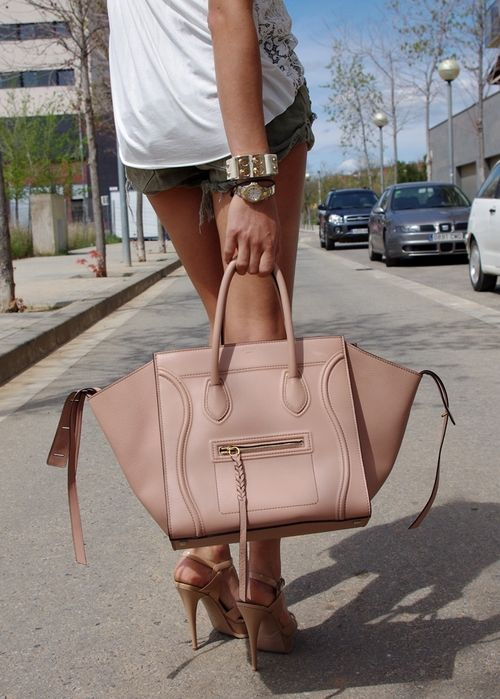 blush pink bag :: Phantom by #Celine next splurge! | bags ...