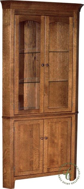 79 best Amish Hutches Display Cabinets images on Pinterest