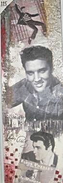 Osta Elvis canvastaulu