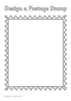 Postzegel mal