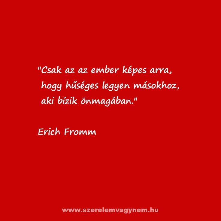 Szerelmes idézet Erich Fromm
