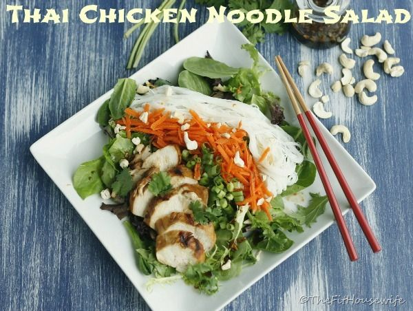 One of my favorite meals to eat during the warm summer months is a nice cool, refreshing salad.  Crisp lettuce and veggies paired with grilled chicken and a tangy dressing.  And I think my favorite...