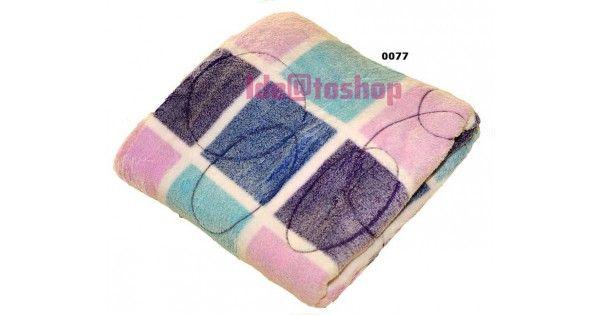 Κουβέρτες κόραλ φλις μονόχρωμες και εμπριμέ σε δύο διαστάσειςΗμίδιπλη 160Χ220Διπλή 200Χ240