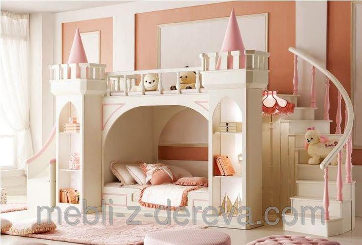 Двухъярусная кровать Замок Принцессы 2, фото 1
