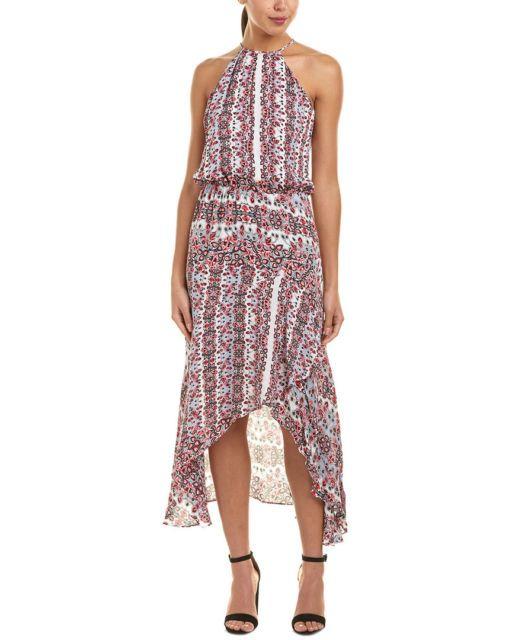 Parker Colleen Silk Maxi Dress