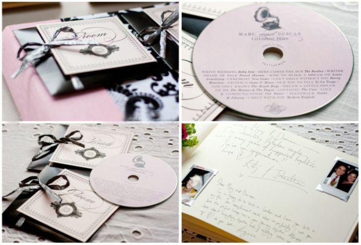 Leuk bedankje ideetjes. Een cd met de leukste foto's van de bruiloft. Met een persoonlijk bedankje erbij. Leuk om later weer eens terug te kijken.