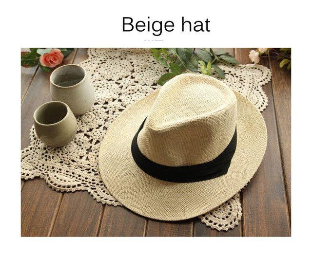 2015 Brand New Panama Hats Man Woman Summer Beach Hat Sombrero de Panama Black White Fashion Caps Chapeu de Praia Verao YY0084