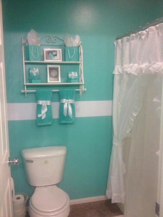 1000 images about tiffany yes please on pinterest tiffany blue bathrooms travertine and - Tiffany blue bathroom ideas ...