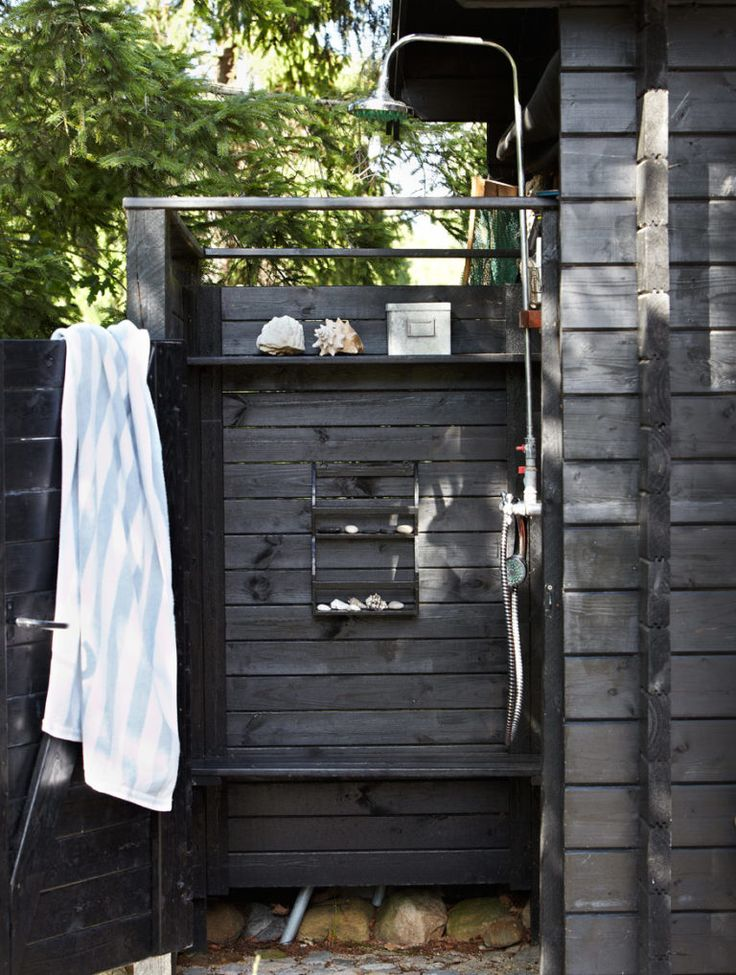 These 14 outdoor showers will convince you to install one at home