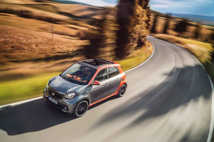 2015 Mercedes Benz smart forfour model 1 interior and exterior The revolution enters the next round -- the smart fortwo has undergone improvements in virtual...