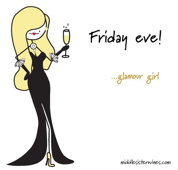 Glamour Girl: TGIAF - Thank God It's Almost Friday