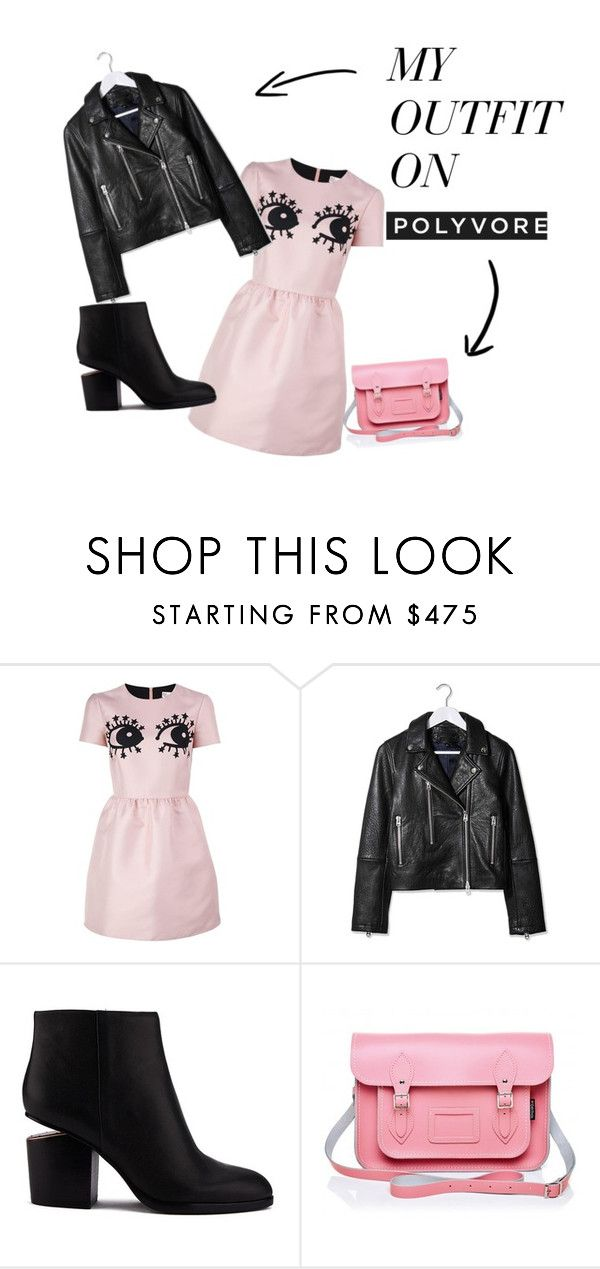 """""""Миломило"""" by dragan-2001 on Polyvore featuring мода, RED Valentino, Topshop и Alexander Wang"""