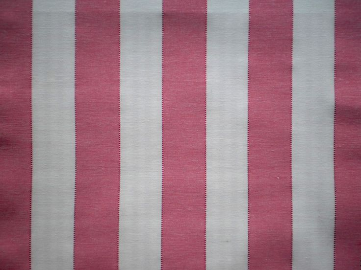 Large Raspberry Stripe Cotton Fabric -Budget range. Cotton fabric  Great value fabric. Suitable for light upholstery, accessories and curtains  Soft feel and true colour