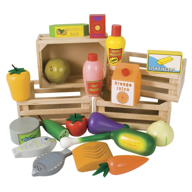Healthy Eating Crates