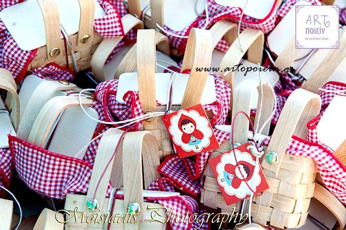 μπομπονιέρα καλαθάκια πικ νικ! www.artopoiein.eu