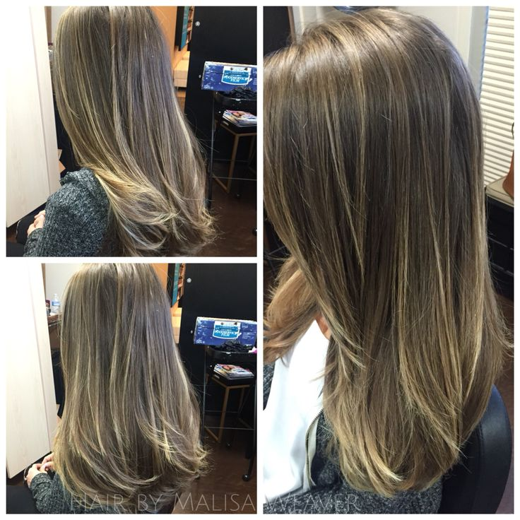 Balayage Babylights Brunette Highlights Longlayers