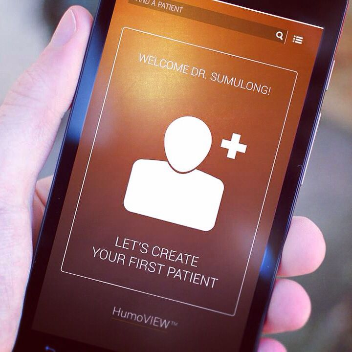 Let's create your first patient! HUMOUNO (Beta) Android app now available for download. #mhealth #healthtech #healthcare #humouno