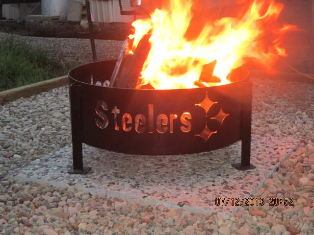 Pin By Janice Jones On Pittsburg Steelers Pinterest Fire Pits Campfires And Fire