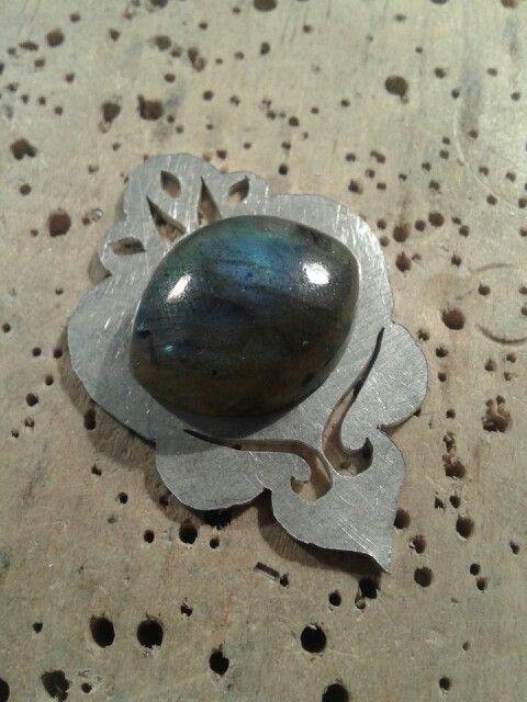 Labradorita ♡ plata 950