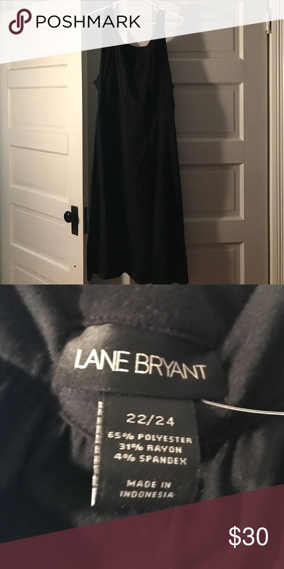 LBD Work to Weekend Black Dress Simple but elegant LBD. Wash and wear. Mid calf length on me. Worn only a couple of times. Lane Bryant Dresses Midi