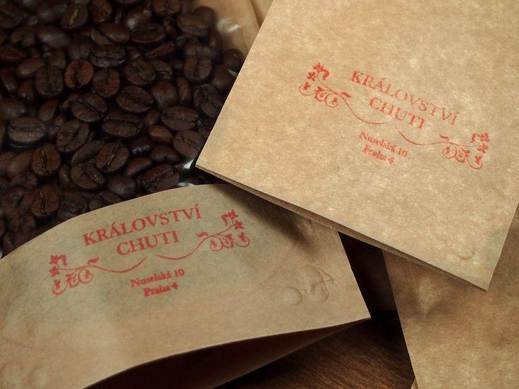 Balení kávy a koření v e-shopu Království chuti