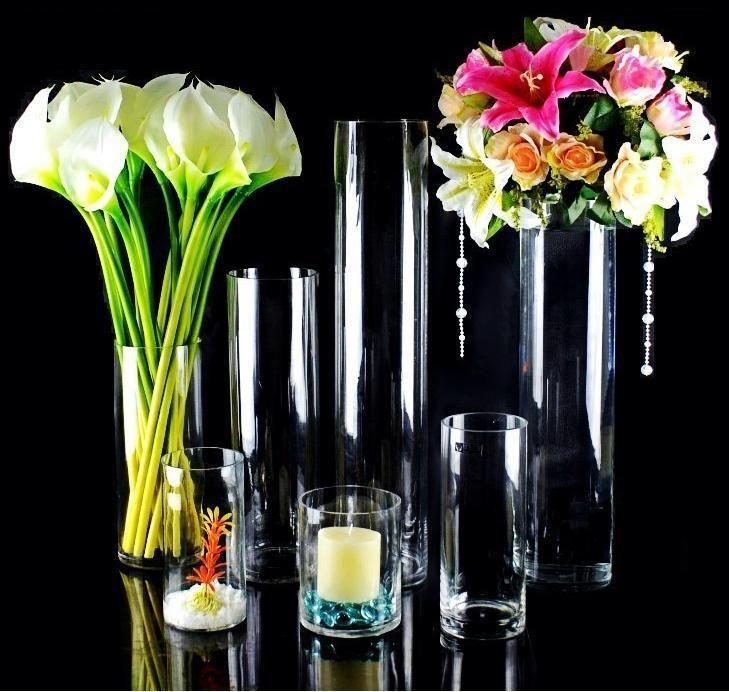 Best clear glass vase ideas images on pinterest