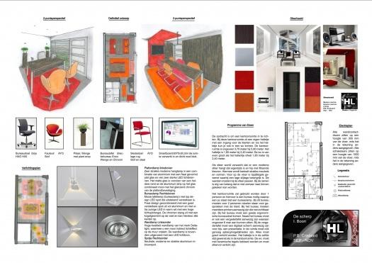 Poster met alle onderdelen van de opdracht van een tweedejaars leerling van de HMC mbo vakschool | www.bomeninhetbos.nl