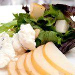 Enjoy a pear salad at Ziran