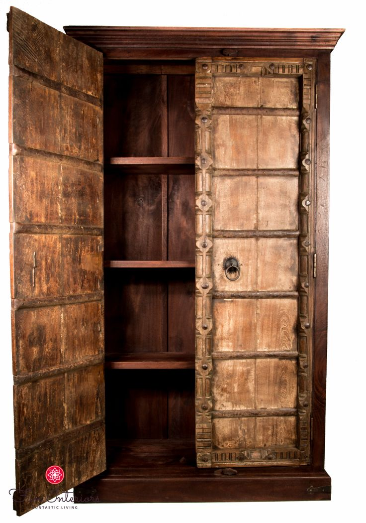 old doors wardrobe