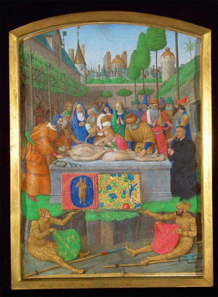 Jean Fouquet, Entombment