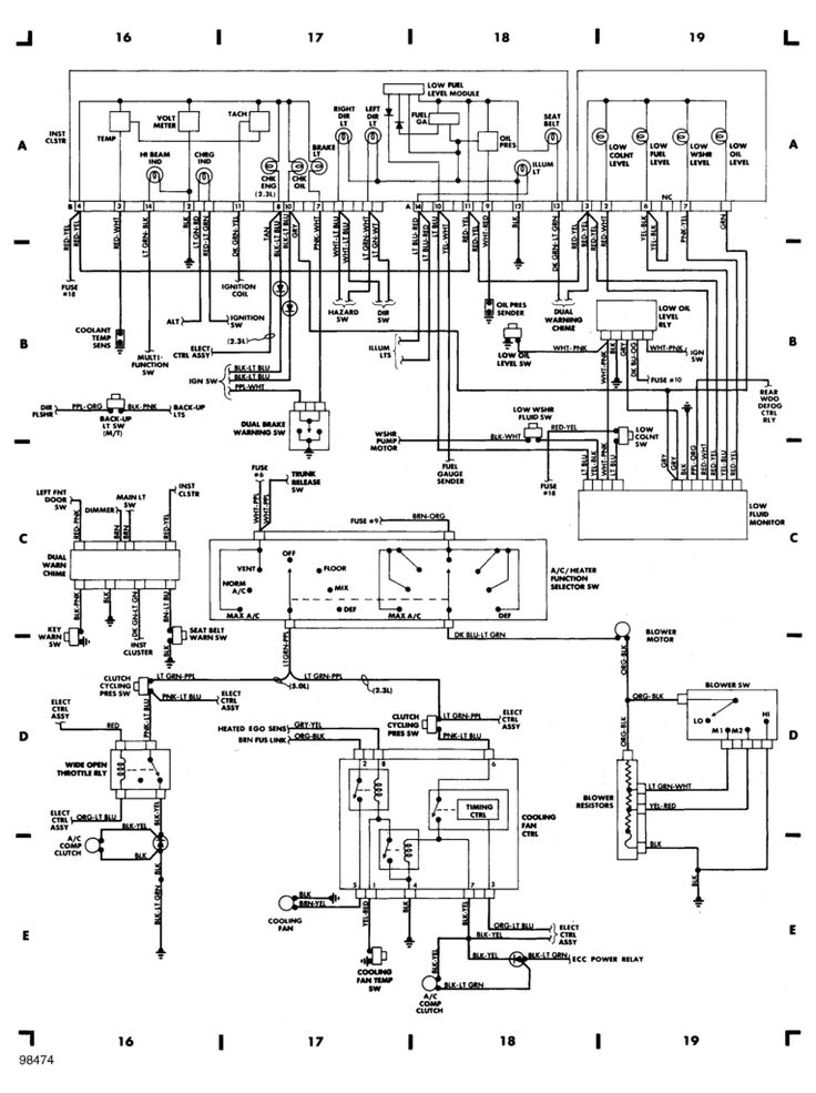 key cylinder wiring 94 mustang | Click the image to open ...