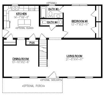 Modular Homes Basement Floor Plans House Design Ideas