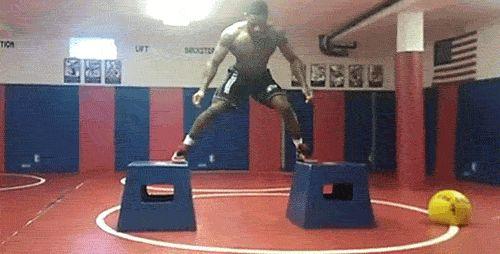 World  Olympic wrestling champ Jordan Burroughs
