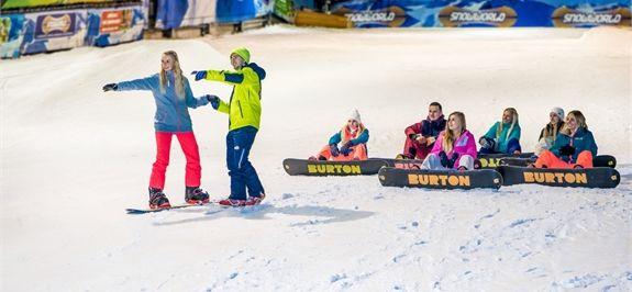 Proefles skiën of snowboarden beginners | snowworld.com