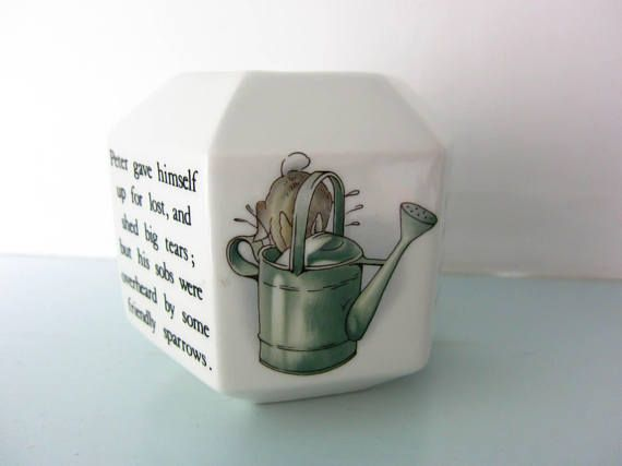 Peter rabbit money box Beatrix Potter peter rabbit peter