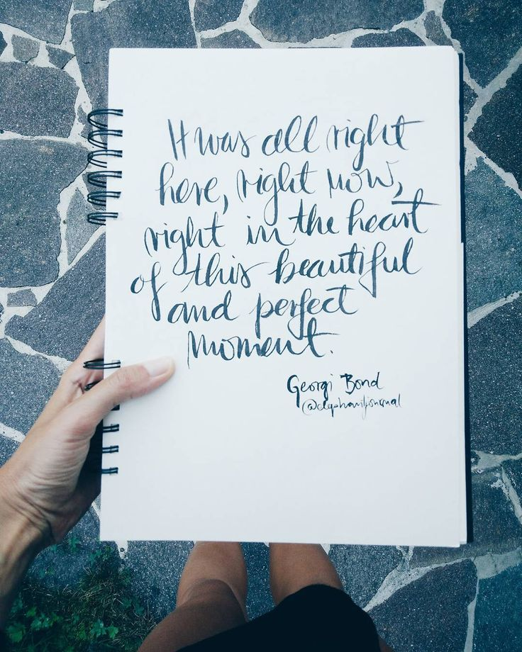 Quote about presence. {@elephant journal on Instagram}