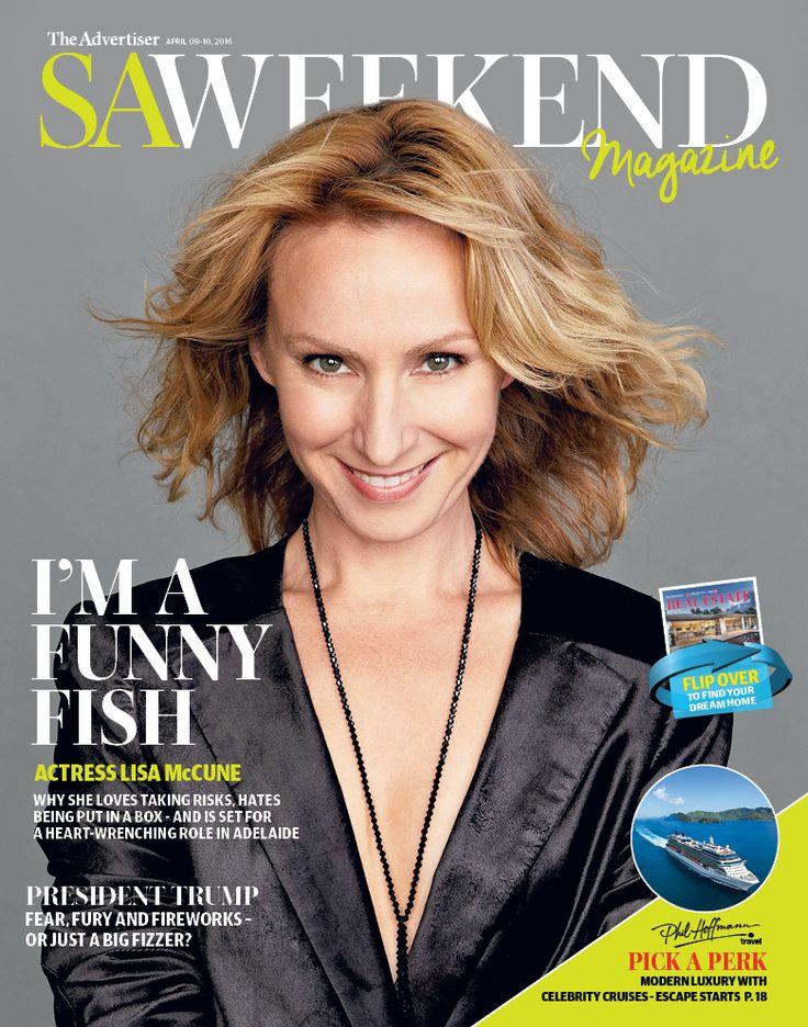 April 8, 2016 cover #LisaMcCune #BlueHeeler #SAWeekend #weekendread