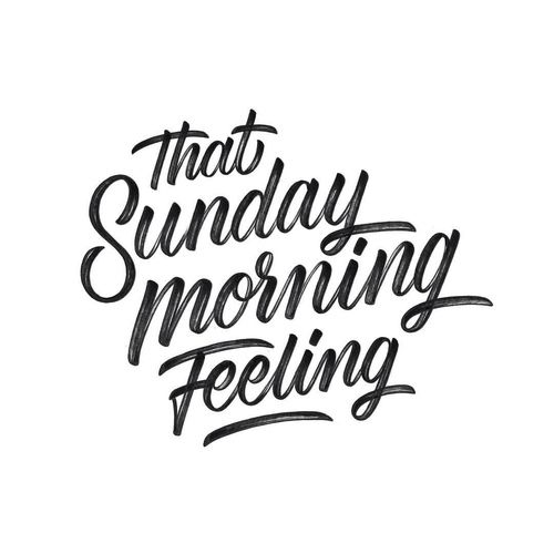 All about that Sunday feeling