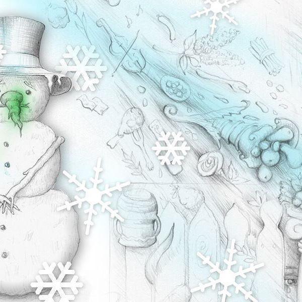 W moim sklepiku na Etsy już świąteczny banerek ⛄❄ Zapraszam na zakupy 👜 #Etsy #etsyseller #kiarahandmade #święta #christmasdecorations #christmas #bałwan #zima #Winter #drawing #rysunek #ilustracja: #illustration #snowman