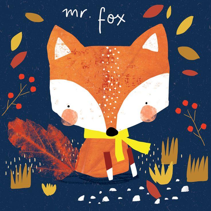 Alex Willmore - alternative version of autumn fox