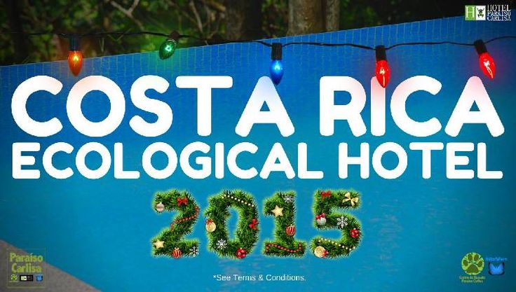 Offer!! ECOLOGICAL HOTEL Costa Rica! For 2 people.