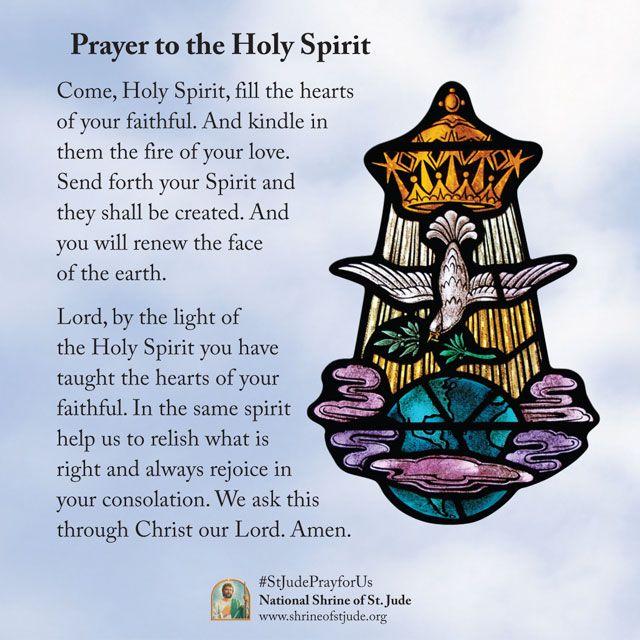 pentecost novena prayer