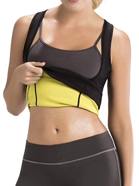 4f1fc69a0a734 Hot Shapers Cami Hot Thermal Shirt for Women - Compression and Calorie Burn  Fabric Technology Activewear (Small