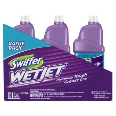 DIY:  Swiffer Wetjet Cleaning Solution - printable recipe, using water, vinegar & dish soap.