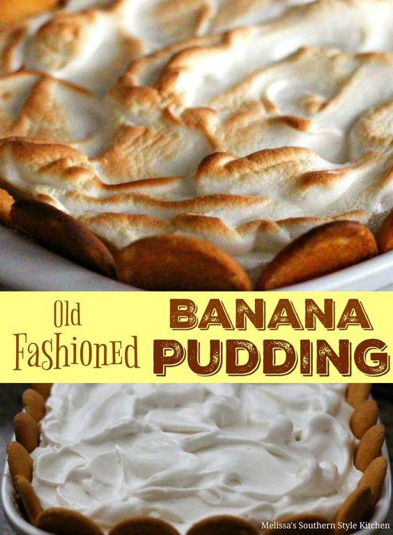 Old Fashioned Banana Pudding